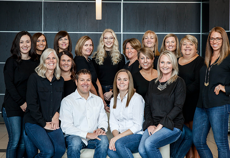 Dentist in Lawrenceburg and team