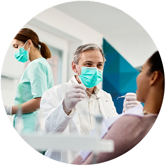Lawrenceburg dental team